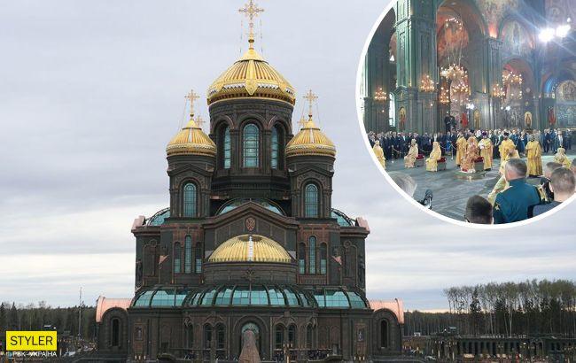 """Храм сатани: в Москві відкрили церкву кольору хакі з """"мощами"""" Гітлера всередині"""