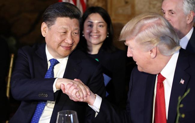 Фото: Дональд Трамп встретился с Си Цзиньпином