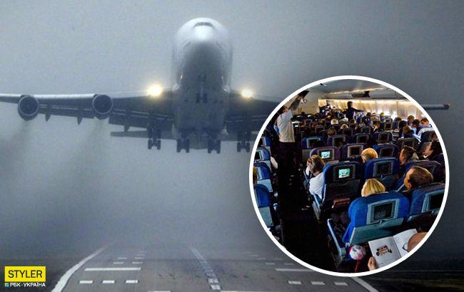В Харькове произошло ЧП с Boeing 737: самолет сдувает, дети кричат