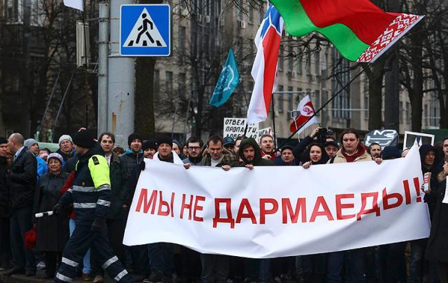 ЕСпризвал Беларусь немедленно освободить задержанных относительно недавно мирных демонстрантов