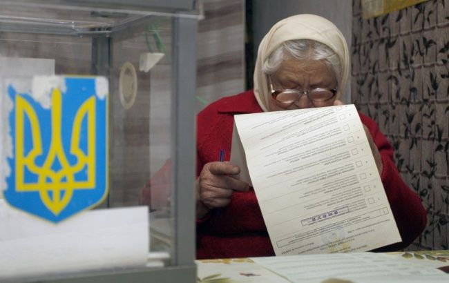 Фото: другий тур виборів