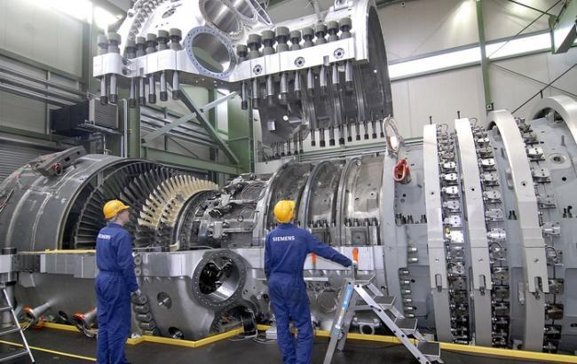 Фото: производство газовых турбин Siemens (informat.com.ua)