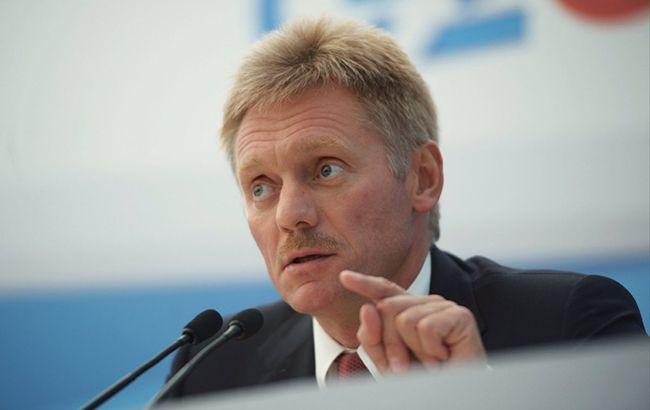 Пєсков: телефонна розмова Путіна і Зеленського з обміну не планується