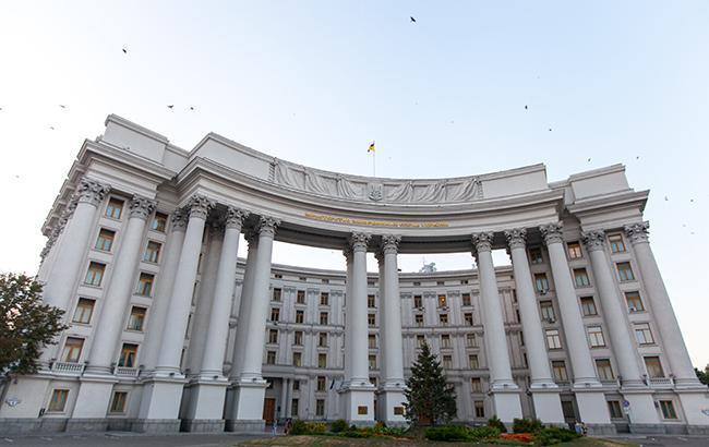 В МИД Украины выразили протест в связи с решением суда по задержанному в Беларуси Грибу