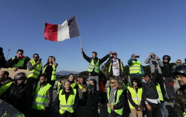 Кількість затриманих демонстрантів у Франції зросла до 1723