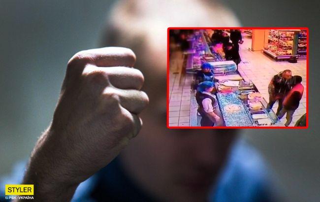 Вбили одним ударом в супермаркеті: нові деталі НП