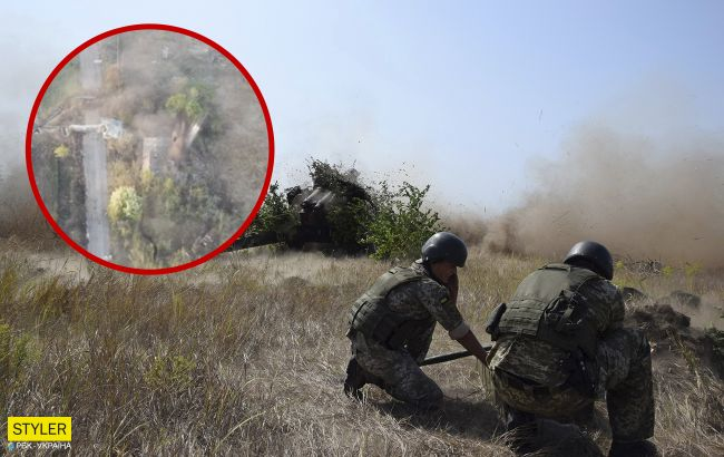 """Никто из оккупантов не убежал:появилось видео мощной """"ответочки"""" от ВСУ на Донбассе"""