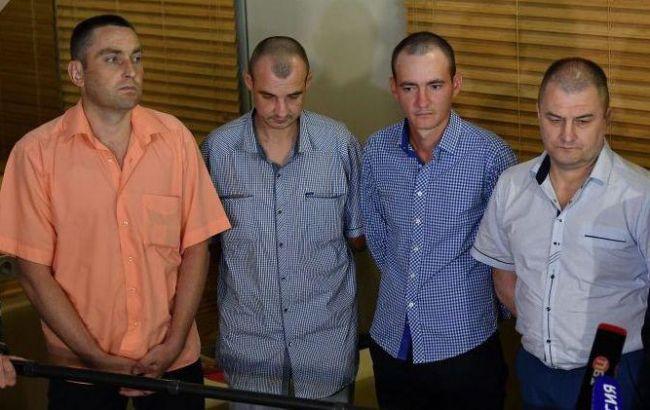 СБУ перевірить чотирьох звільнених полонених