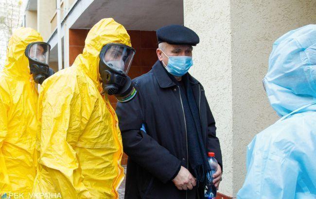 В Украине заразился коронавирусом военный