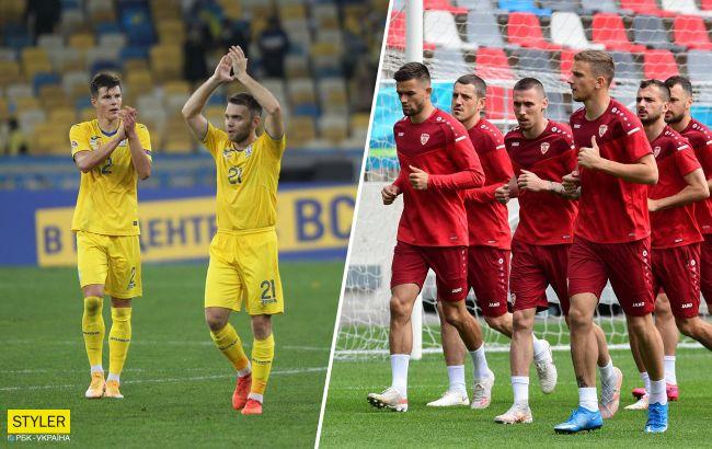 Україна - Північна Македонія: букмекери назвали переможця матчу