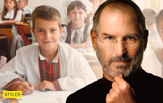 Українські школярі будуть вивчати біографію Джобса