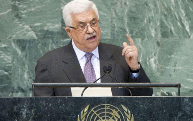 Аббас оголосив про вихід Палестини з усіх угод із США та Ізраїлем