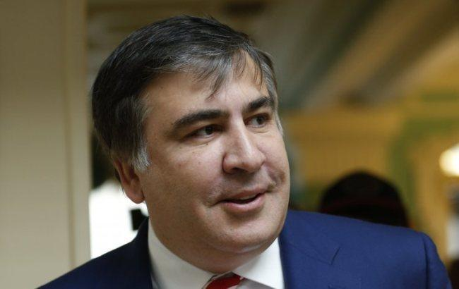"""Саакашвілі заявив, що перетне український кордон потягом, а не через """"Краковець"""""""