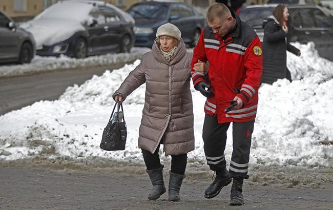 В Киеве завтра ожидается гололедица на дорогах