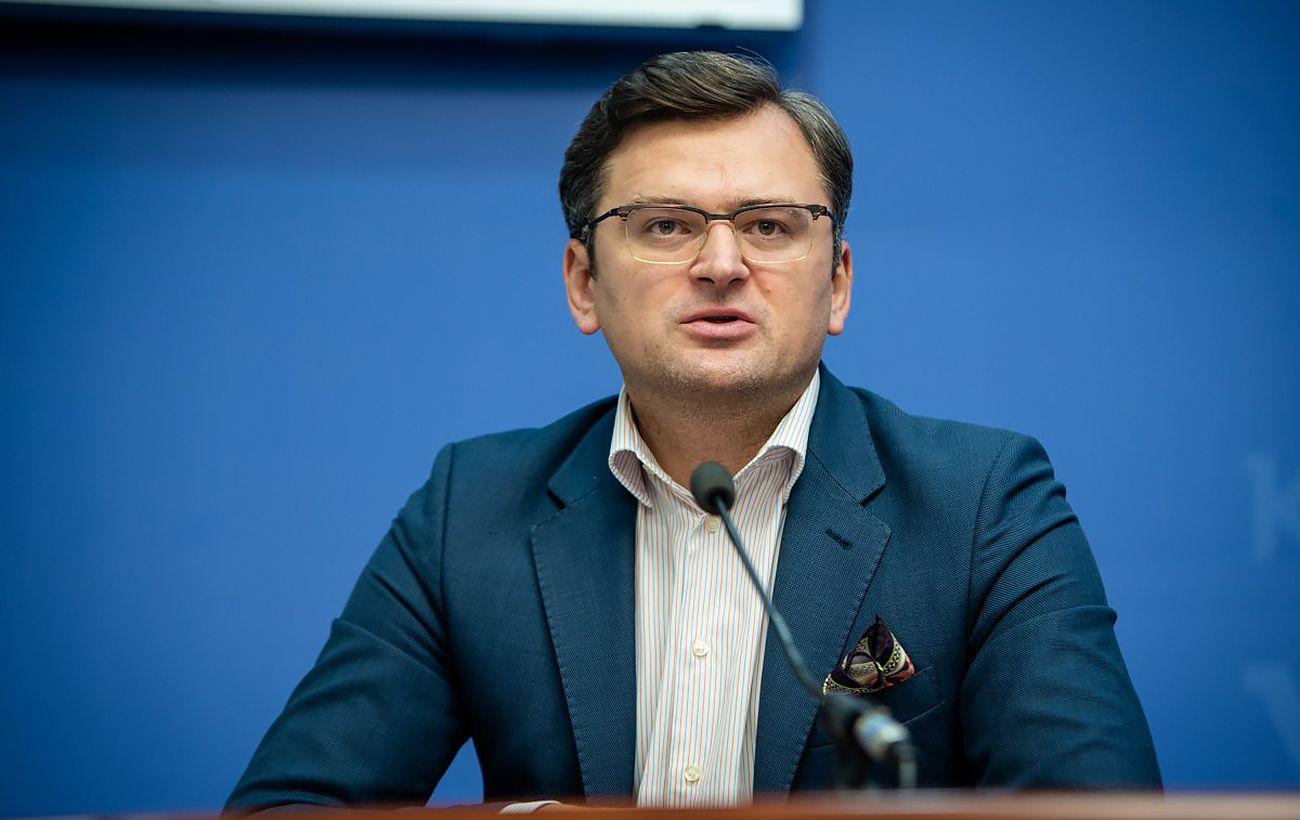 Кулеба об отводе российских войск: угроза провокаций остается неизменной