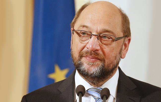 Фото: Мартін Шульц, голова партії СДПН (Уніан)