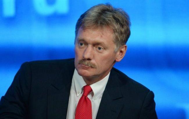 В Кремле прокомментировали возможную встречу Зеленского и Путина
