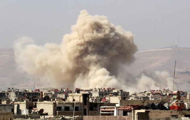 Фото: вибух в Іраку (UPI)