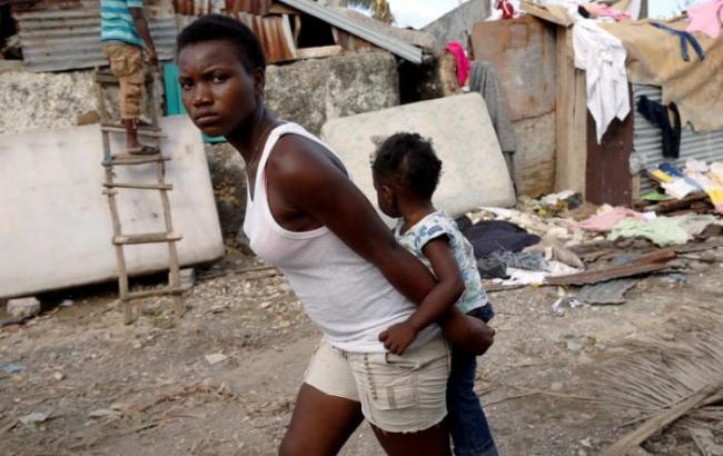 НаГаити 13 человек погибли отвспышки холеры, появившейся после урагана Мэттью