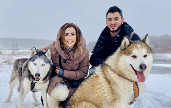 Катание в собачьей упряжке и настоящий вигвам: украинскую Лапландию показали на видео