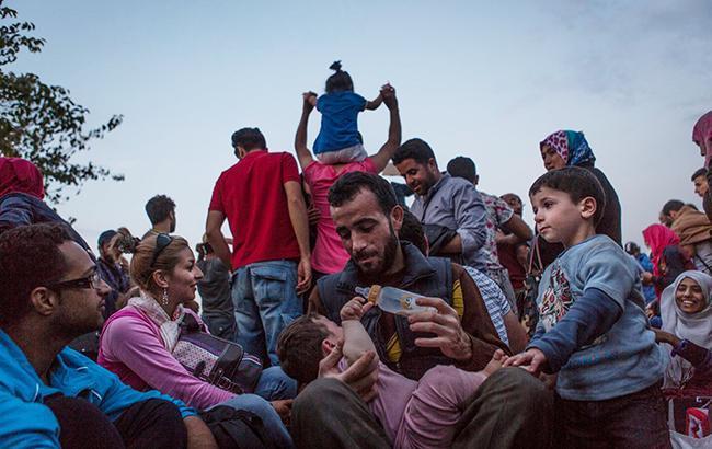 Ілюстративне фото: біженці в Європі (facebook.com/beroeva)