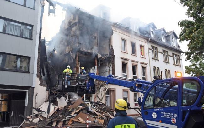 У Німеччині стався вибух у житловому будинку