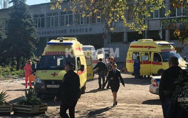 Опубликовано видео взрыва и стрельбы в керченском колледже