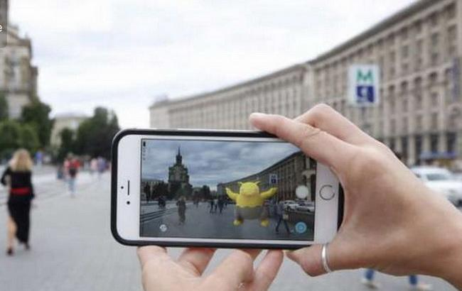 Фото: игра Pokemon Go в Украине (Olx.ua)
