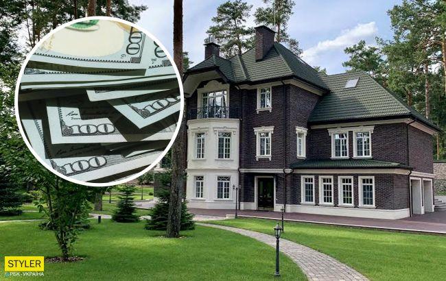 Под Киевом среди соснового леса стоит дом за 120 миллионов. Вот как он выглядит
