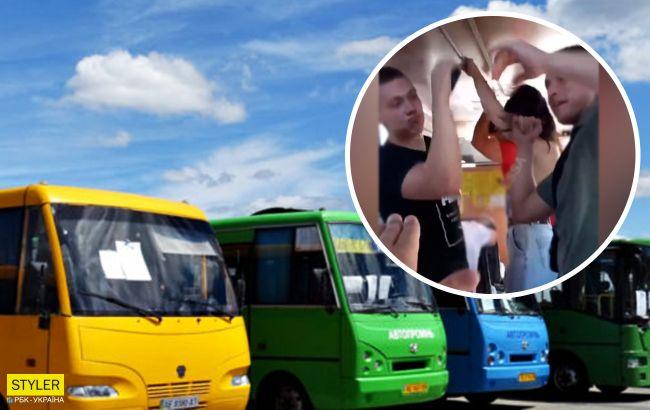 Под Одессой молодежь устроила дискотеку в городской маршрутке (видео)