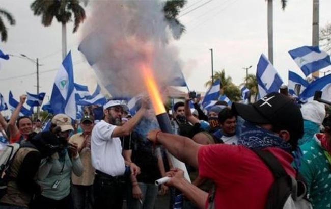 ВНикарагуа число жертв при протестах задень выросло до 10-ти человек