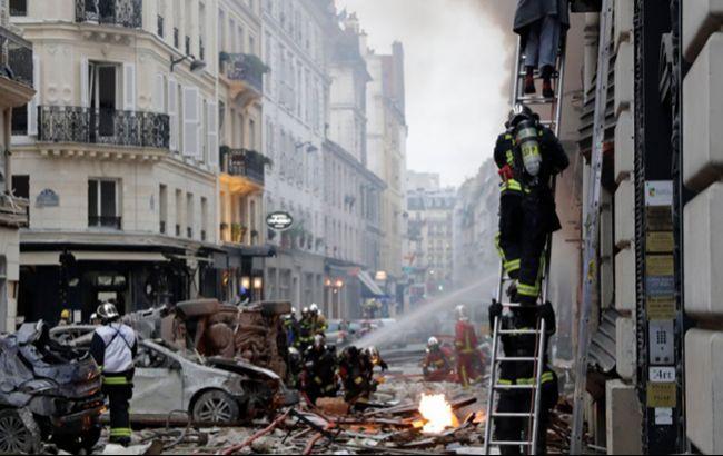 В результате взрыва в Париже пострадали 20 человек