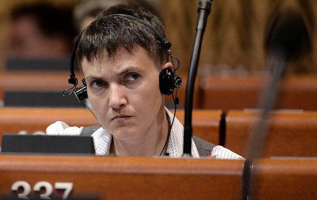 Фото: Савченко вперше виступила в ПАРЄ