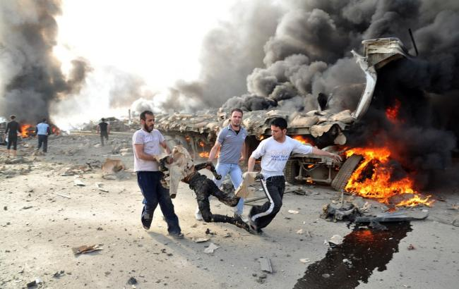 Удар западной коалиции убил 20 мирных граждан вСирии