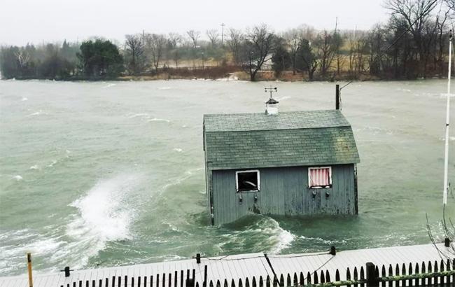 Фото: шторм в США