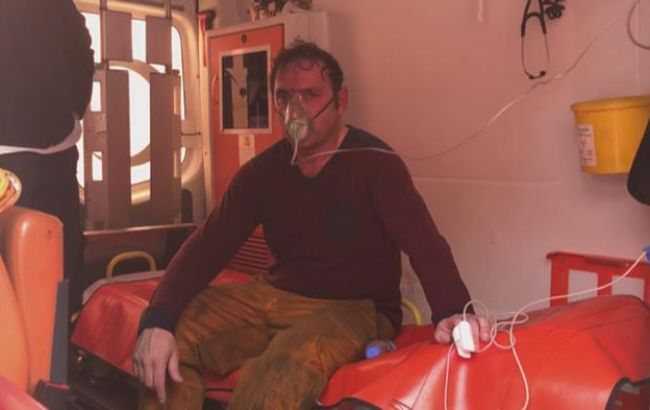 В результаті пожежі на кораблі біля Стамбула загинули 2 людини
