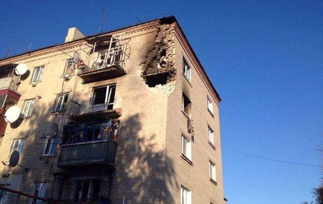 Фото: в результаті вибухів пошкоджено жилие будинку