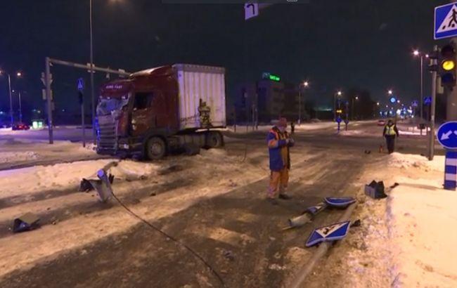 У Талліні сталося ДТП з пасажирським автобусом, є постраждалі