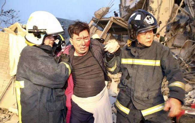 Фото: наслідки землетрусу в Тайвані (Reuters)