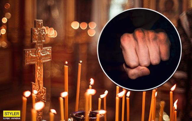 Ничего святого: под Тернополем священники устроили драку прямо в храме