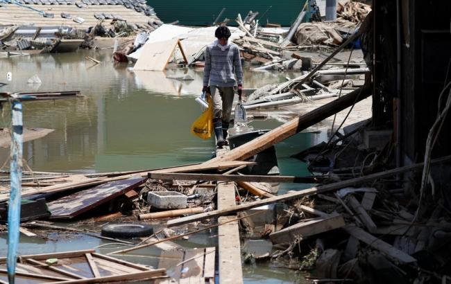 Повінь в Японії забрала життя 209 осіб