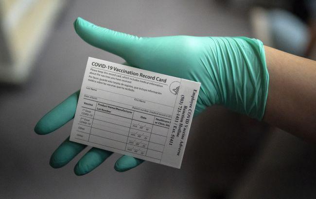 У Литві зафіксували спроби підробки документів про вакцинацію