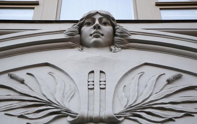 Фото: Улица Ярославов Вал – это настоящий музей архитектуры под открытым небом (Виталий Носач, РБК-Украина)