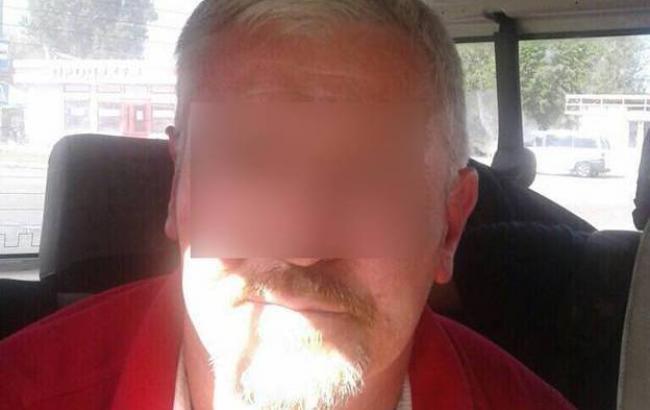 Фото: затриманий за підозрою в організіції вбивства журналіста Василя Сергієнка