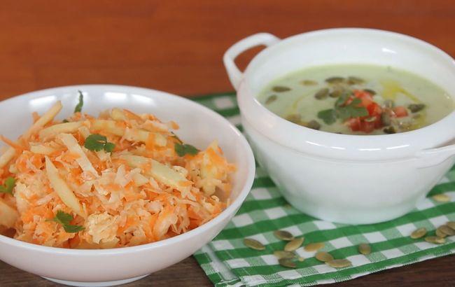 Рецепт дня: суп із авокадо та вітамінний салат від зіркового українського актора