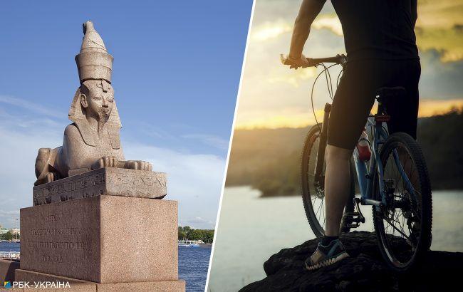 Блокпосты и запреты в Египте. Семья украинцев путешествует в Дахабе на велосипедах