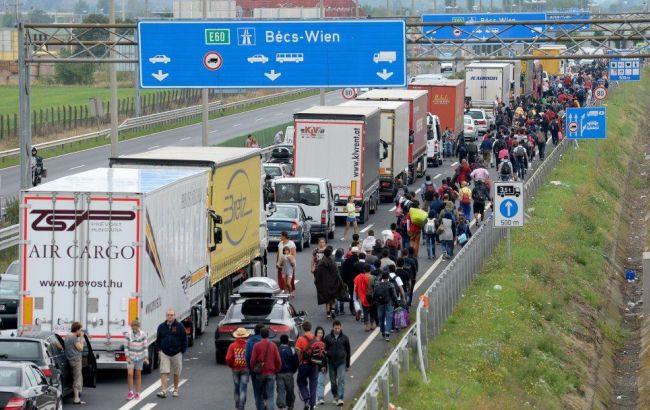 Фото: у Відні обговорять проблему біженців