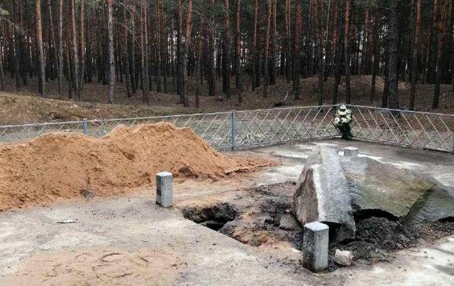 У Полтавській області вандали пошкодили пам'ятник хану Кубрату. Болгарія різко засудила