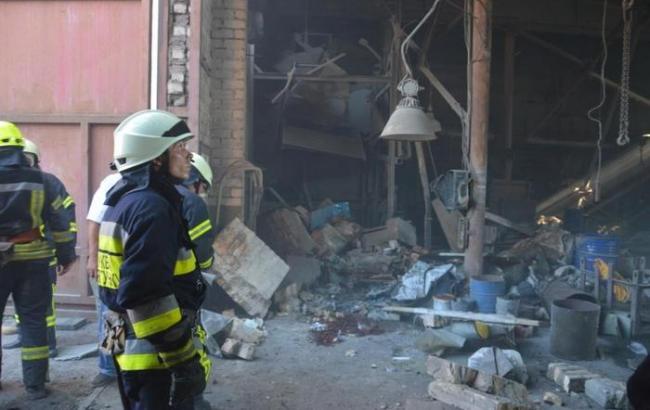 В Днепре на предприятии произошел взрыв, два человека погибли