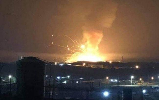 В Иордании произошел взрыв на складе боеприпасов